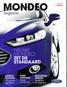 ford mondeo magazine